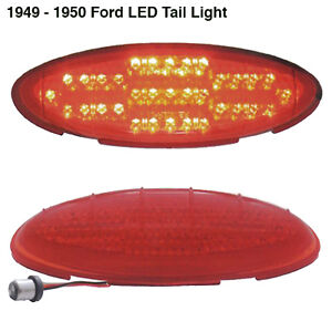 1949 1950 Ford Shoebox Led Tail Light Super Bright For Stock Or Customs