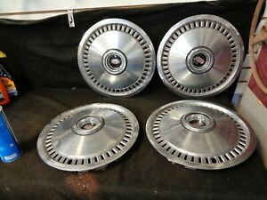 1973 1978 Mercury 14 Inch Hubcaps Wheel Covers Set Of Four Daily Driver