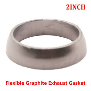 Universal Donut Style Car Exhaust Gasket 2 50 8mm Id Exhaust Pipe To Manifold