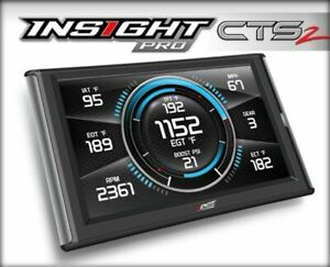 Edge Products Insight Pro Cts2 Performance Monitor 5 9l Diesel 86100 dodge1