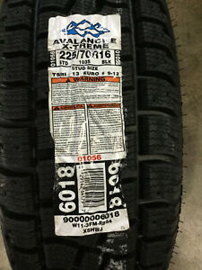 4 New 225 70 16 Hercules Avalanche X treme Snow Tires