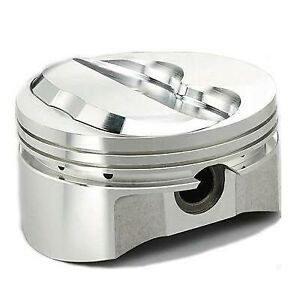 Wiseco K404a35 Sbc 400 4 155 Bore Hollow Dome Pistons 6 Rod 4 Stroke