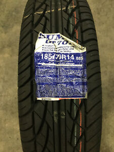 4 New 185 70 14 Sumic Gt70a Tires