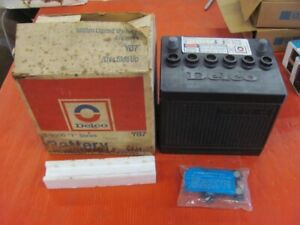 Nos Delco W55 Battery In Box E 2000 W Series Rare