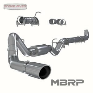 Mbrp 4 Exhaust System 01 07 Chevy Gmc Duramax Diesel 6 6l Stainless Steel