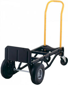 New Harper Trucks 700lb Nylon Dolly And Cart move Up To 700 Lbs Quick And Easy