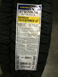 4 New 235 70 16 Goodyear Wrangler Trailrunner At Tires