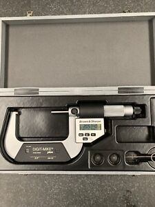 Mint 2 3 Brown And Sharpe Digit mike Plus Micrometer Swiss Made Digital