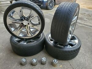 4 20 Wheels Rims 5x114 3 And 245 35 20 Tires
