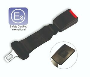 2pcs Universal Car Seat Belt Safety Clip Extender Extension Buckle Sound Cutter