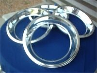 14 X 1 3 4 Rally Wheel Trim Rings New 3pieces