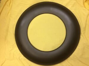 1956 Thunderbird Continental Kit New Steel Spare Tire Cover With Rubber Bead