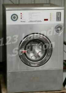 Ipso Front Load Washer 35 Lbs Capacity Stainless Steel 3phase Refurbished