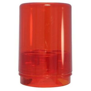 Lee's Reloading 90535 Red Round Polymer Storage Box for Reload Dies (Holds 3)