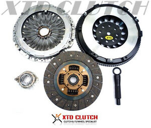 Xtd Clutch Kit Single Mass Lite Flywheel Fit For 03 08 Tiburon 2 7l 5 6 Spd