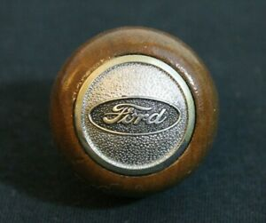 Ford Wooden Knob Gear Shift Knob Accessory F150 Truck Bronco Mustang Galaxie Gt