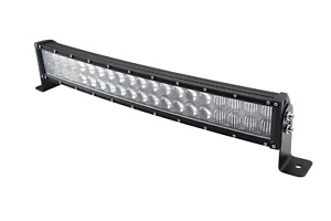 Tri Row 22inch 270w Curved Led Light Bar Spot Flood Truck Offroad Vs 20 24 26
