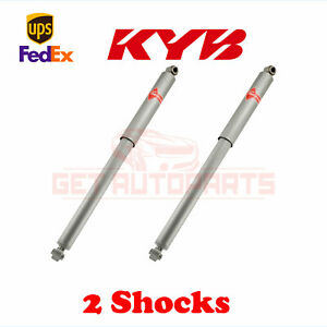 Kit 2 Of Kyb Gas A Just Monotube Shocks Rear For 1993 1998 Jeep Grand Cherokee
