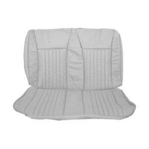 Rear Seat Upholstery Gray 1990 1993 Mustang Gt Hatchback