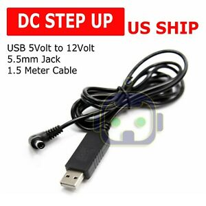 Usb Dc 5v To Dc 12v Step Up Module Converter 2 1x5 5mm Male Connector Plus Sf