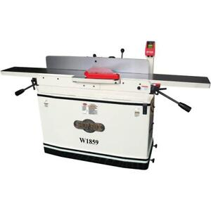 Shop Fox W1859 8 inch X 76 inch Parallelogram Jointer With Mobile Base