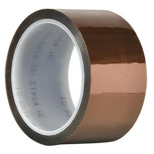 3m 5413 Film Tape polyimide amber 6 In X 36 Yd