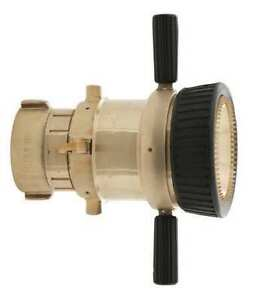 Elkhart Brass Csw lb Industrial Fire Hose Nozzle 2 1 2 In