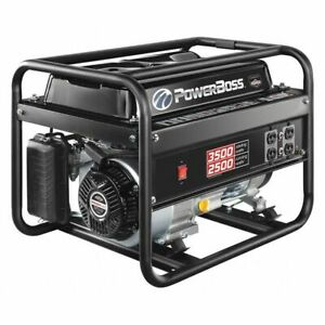 Powerboss 30666 Portable Generator 3500w 196cc