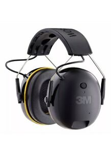 Hearing Protector 3m Worktunes Muff Headset Hi fi Sound Ear Connect Bluetooth