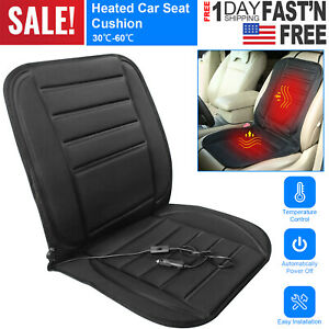 12v Thickening Heated Car Seat Heater Chair Cushion Warmer Cover Pad Cover Kit