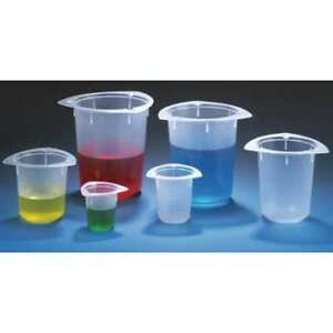 Globe Scientific 3645 Beaker polypropylene 1000ml pk100