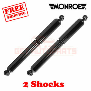 Kit 2 Monroe Oespectrum Rear Shocks For Jeep Grand Cherokee 1993 1998