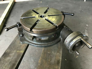 Yuasa Horizontal Rotary Table 12 Model 550 112