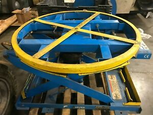 Lift Table Pneumatic 3000 Lb Used