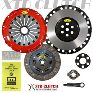 Stage 1 Hd Clutch Kit Racing Flywheel Fits 00 08 Hyundai Tiburon Elantra 2 0l