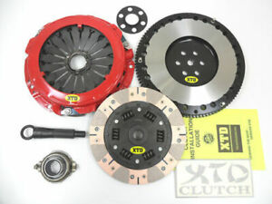 Xtd Dual Friction Clutch Racing Flywheel Kit Fits Elantra Tiburon Spectra 2 0l