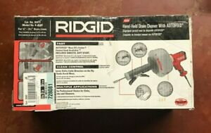 Ridgid 35473 k 45af Hand held Sink Drain Cleaning Machine W Autofeed new
