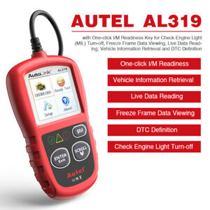 Us Launch Cr6001 Cr519 Obd2 Obdii Car Diagnostic Code Reader Scanner Check Tool