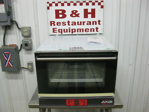 Axis Half 1 2 Size Bakery Sheet Pan Convection Oven W Humidity Ax 513rhd
