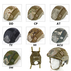Outdoor Sport Tactical Helmet Cover Military Gear Camouflage Helmet Accessories