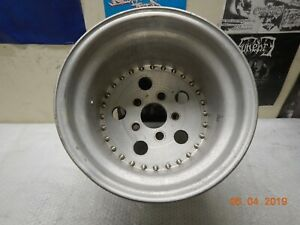 15x12 Centerline Wheel 5 On 5 Slicks Drag Race Car Dragster Chevy Gm Fenton