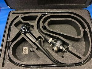 Olympus Pcf 140l Pediatric Video Colonoscope With Case