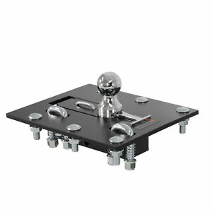 Curt Over Bed Folding Ball Gooseneck Hitch X 61052