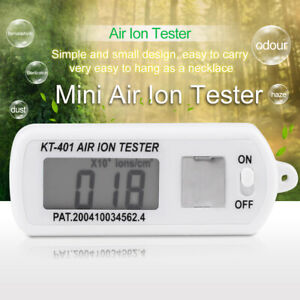 Lcd Mini Car Air Ion Counter For Negative Air Ion Generator With Button Battery