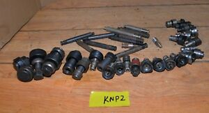 Greenlee Knockout Punch Die Draw Bar Radio Chassis Metal Working Tool Lot Knp2