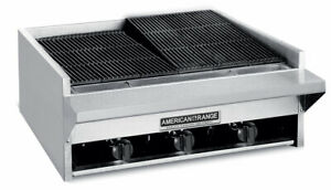 American Range Aecb 24 24 Commercial Gas Char Rock Broiler