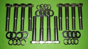 Stnlss Inlet Intake Manifold Hex Bolts Ford V8 Sb Small Block Engine 260 289 302