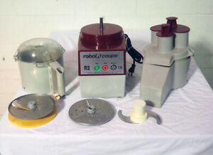 Used Robot Coupe R2 Ultra B 3 Quart Stainless Food Cutter Mixer 1hp