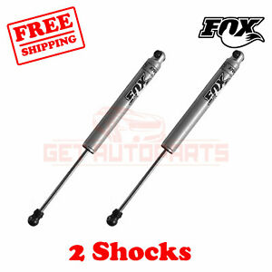 Kit 2 Fox 2 5 4 Lift Rear Shocks For Jeep Grand Cherokee Zj 1993 1998