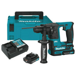 Makita Rh01r1 12v Cxt Lithium ion Brushless Cordless 5 8 Rotary Hammer Kit